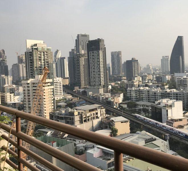 Amazing Sukhumvit view condo for sale - 3-bedroom - high floor - Acadamia Grand Tower