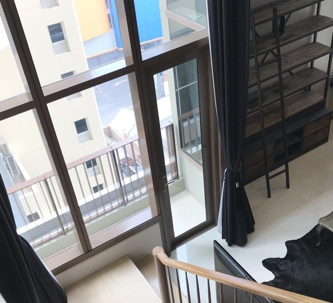 Bangkok duplex condo for sale - loft interior - The Emporio Place Sukhumvit 24