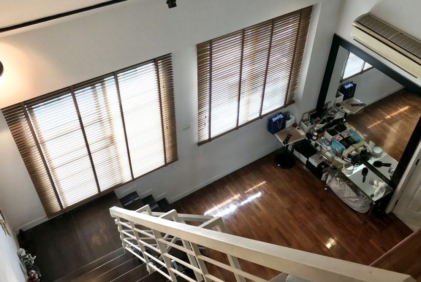 view fromattic floor