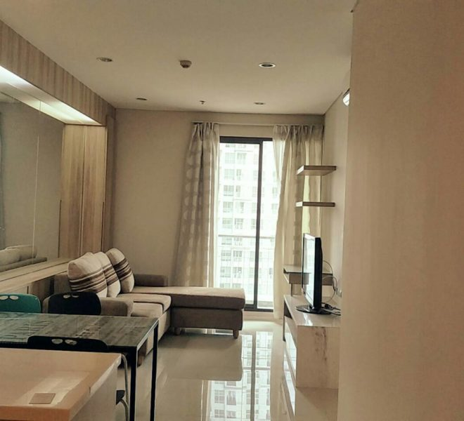 1-Bedroom Condo on Mid Floor for Sale in Villa Asoke