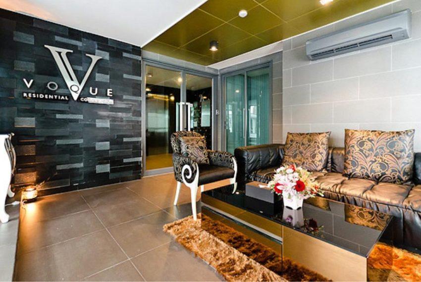 vogue sukhumvit 15 condominium - lobby