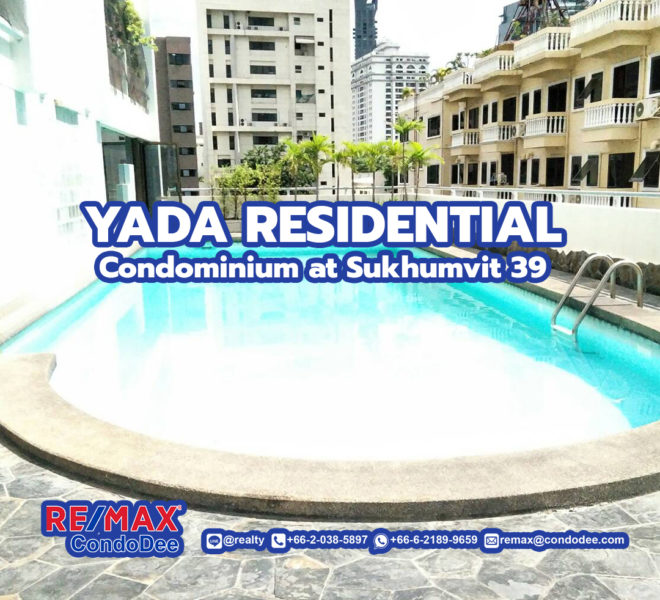 Yada Residential Condominium in Phrom Phong at Sukhumvit 39